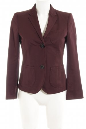 Windsor Blazer stile Boyfriend marrone-viola stile boyfriend