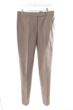 Windsor Bundfaltenhose beige-graubraun