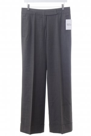 Windsor Bundfaltenhose dunkelgrau Business-Look