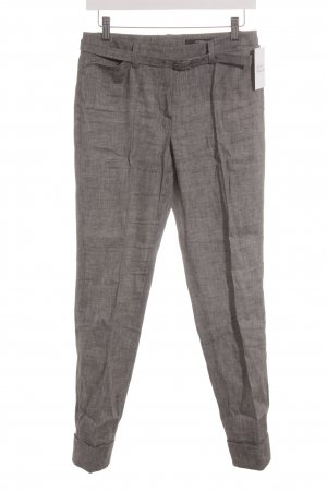 Windsor Bundfaltenhose grau meliert Business-Look
