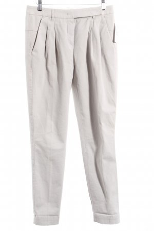 Windsor Bundfaltenhose hellgrau Casual-Look