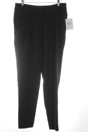 Windsor Pantalon à pinces noir élégant