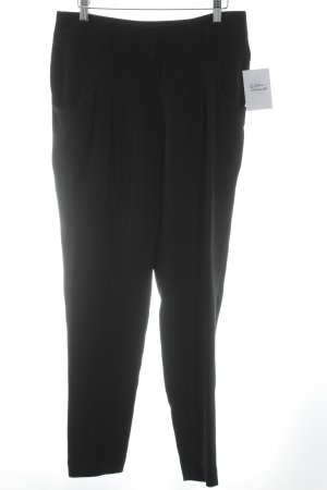 Windsor Bundfaltenhose schwarz Elegant