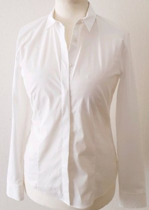 Windsor Chemise à manches longues blanc coton