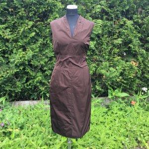 Windsor Robe fourreau brun polyester
