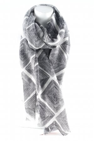 Windsor Pañoleta negro-beige claro rayas horizontales Estilo playero