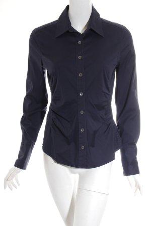 Windsor Hemd-Bluse dunkelblau Business-Look