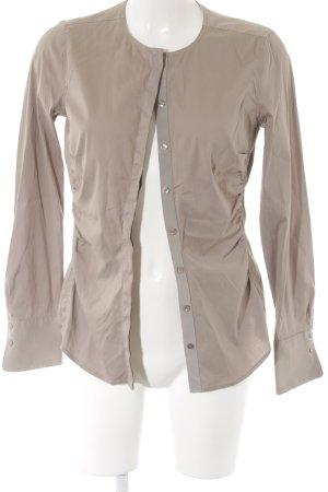 Windsor Hemd-Bluse graubraun Business-Look