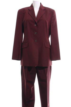 Windsor Tailleur-pantalon rouge style d'affaires