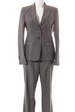 Windsor Tailleur pantalone grigio motivo a quadri stile professionale