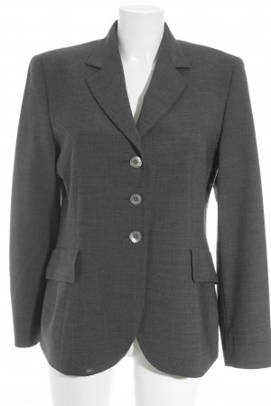 Windsor Jerseyblazer anthrazit meliert Business-Look