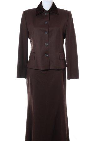 Windsor Kostüm schwarzbraun klassischer Stil