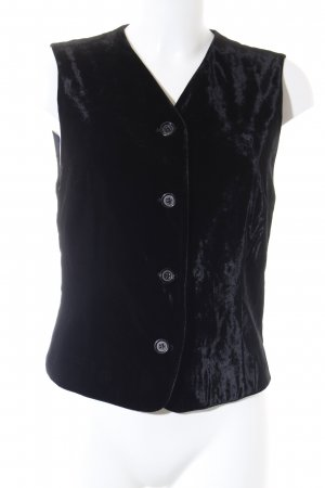 Windsor Vest van imitatiebont zwart elegant