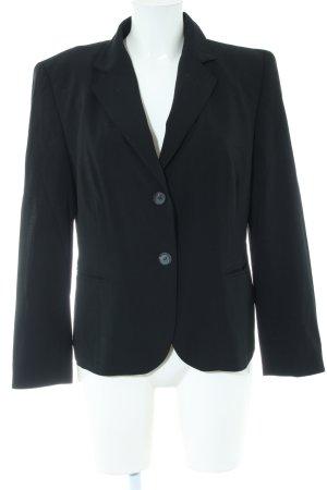 Windsor Kurz-Blazer schwarz Business-Look