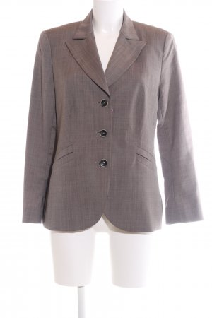 Windsor Kurz-Blazer braun meliert Business-Look