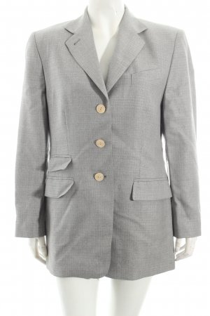 Windsor Kurz-Blazer hellgrau Casual-Look
