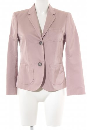 Windsor Kurz-Blazer roségoldfarben Webmuster Business-Look