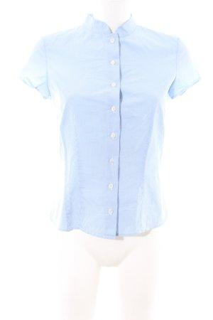 Windsor Kurzarmhemd blau-weiß Karomuster Casual-Look