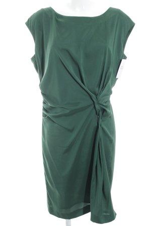 Windsor Kurzarmkleid dunkelgrün schlichter Stil