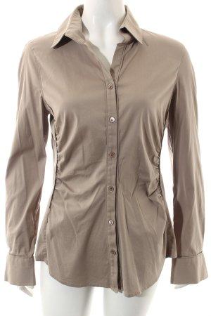 Windsor Langarm-Bluse beige Business-Look