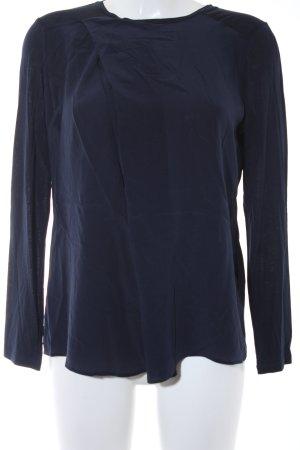 Windsor Langarm-Bluse dunkelblau-blau Casual-Look