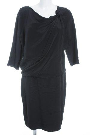 Windsor Langarmkleid schwarz Elegant
