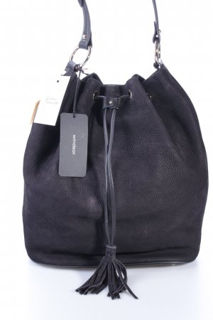Windsor Carry Bag black leather