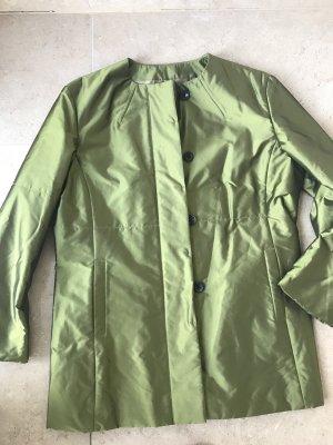 Windsor leichte Jacke Olivegrün Festlich Seide gefüttert Übergangsjacke