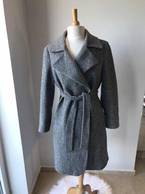 Windsor Cappotto in lana nero-bianco