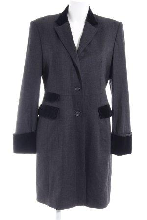 Windsor Long-Blazer anthrazit-schwarz Business-Look