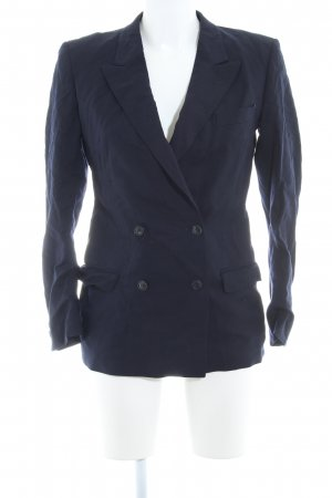 Windsor Long-Blazer dunkelblau Casual-Look
