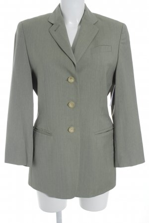 Windsor Blazer largo gris verdoso estilo «business»