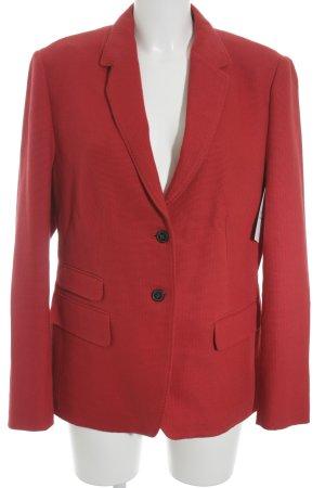 Windsor Blazer lungo rosso elegante