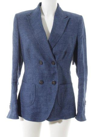 Windsor Long-Blazer stahlblau Business-Look