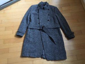 Windsor Wollen jas grijs