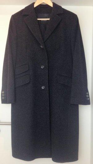 * WINDSOR * MANTEL WOLLE KASCHMIR dunkel grau Klassisch Gr 42 XL
