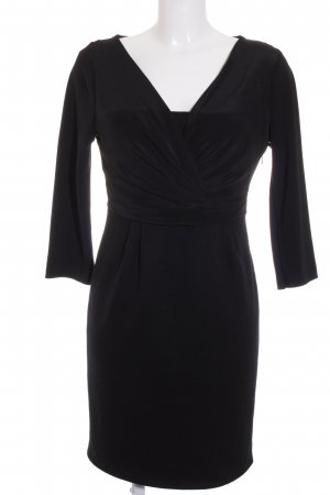 Windsor Midikleid schwarz Elegant