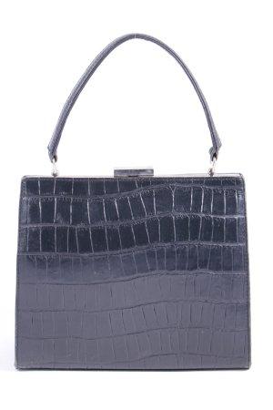 Windsor Minitasche schwarz Animalmuster Glanz-Optik