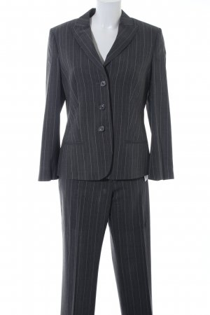 Windsor Pinstripe Suit dark grey business style