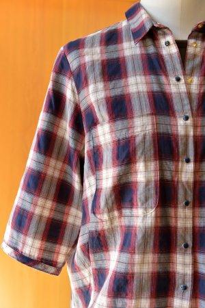 WINDSOR oversize Hemd Bluse Karohemd 36/38/40 kariert Etikett Holzfällerhemd Kar
