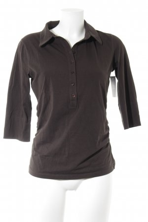 Windsor Polo-Shirt dunkelbraun Casual-Look