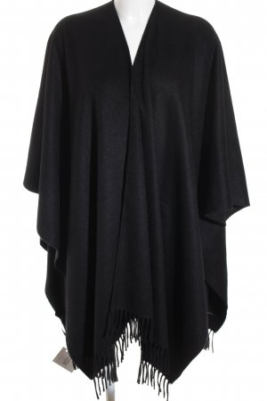 Windsor Poncho negro look casual