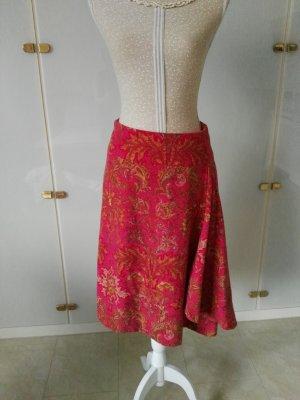 Windsor Wool Skirt brick red-carmine