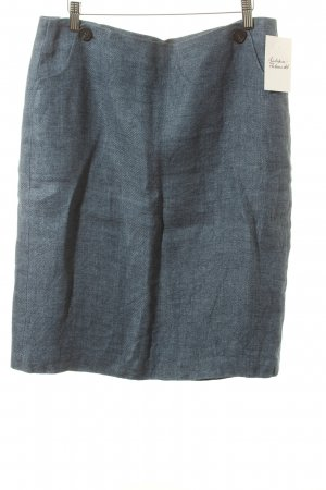 Windsor Skirt steel blue simple style