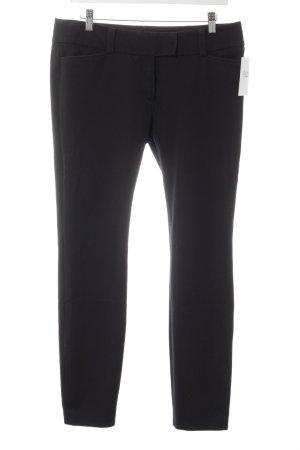 Windsor Pantalón de tubo negro estilo sencillo