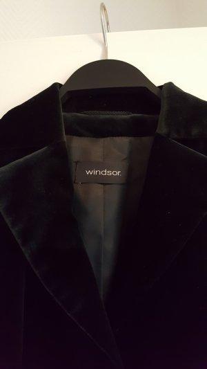 Windsor Samtblazer, Größe 40