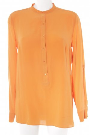 Windsor Seidenbluse orange Casual-Look