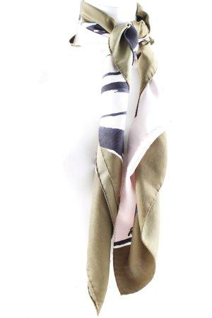 Windsor Silk Scarf abstract pattern elegant