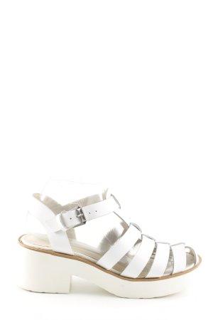 Windsor Smith Riemchen-Sandaletten weiß Casual-Look