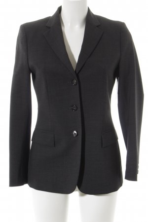 Windsor Woll-Blazer dunkelgrau Business-Look